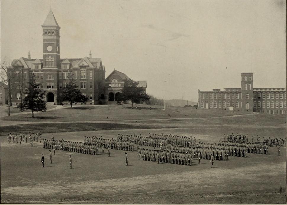 Cadets on Bowman Field (Oconeean 1904)