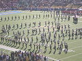 Cal Band performing pregame at 2008 Big Game 17.JPG