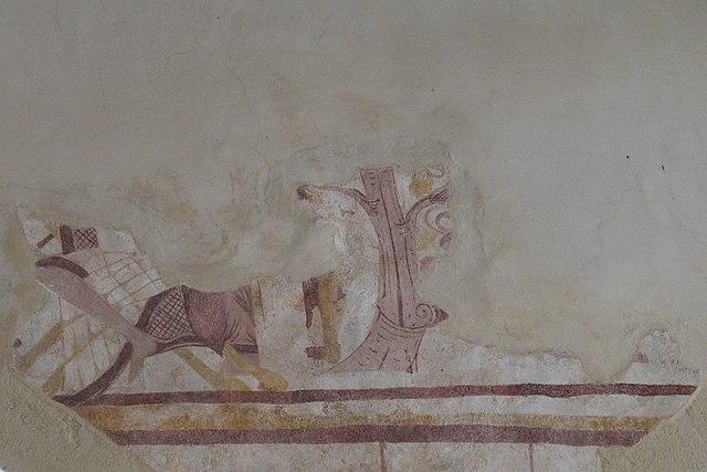 Beau Datei:Calan Église De La Trinité Peinture Murale 473