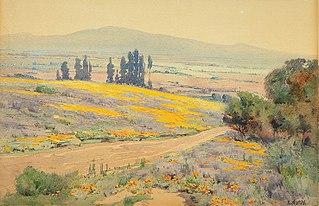 California Spring Landscape