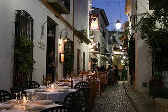 Altea - Image: Calle típica Altea Alicante