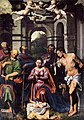 Callisto Piazza Da Lodi - The Adoration of the Christ Child with Saints - WGA17407.jpg