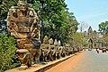 Cambodia-2521 - South Gate Causeway (3594753277).jpg