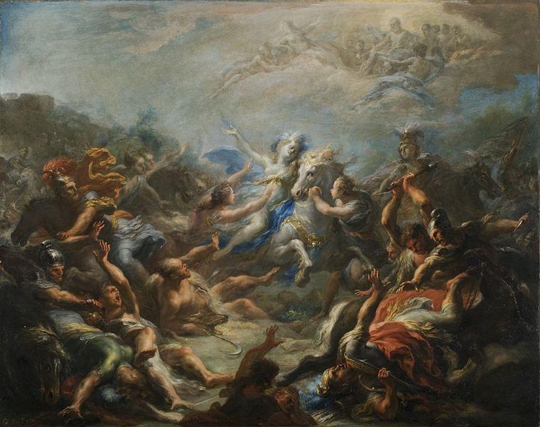 A Summary of The Aeneid by Virgil