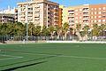 Camp de futbol, jardí del Camí de Montcada.JPG