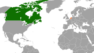 Diplomatic relations between Canada and the Kingdom of the Netherlands