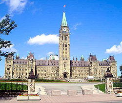 Parliament buildings of Canada Image: Matthew Samuel Spurrell.