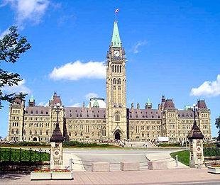 Il Parlamento Del Canada A Ottawa Ontario