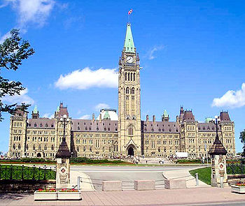 Parliament buildings of canada