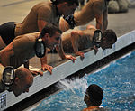 Candidates perform combat water fitness 131015-F-OG799-309.jpg