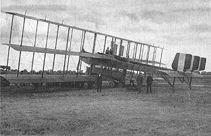 1919 Verona Caproni Ca.48 crash - Image: Caproni Ca.48