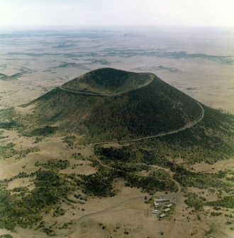 Capulin Volcano National Monument - Last erupted between 58,000 to 62,000 years ago