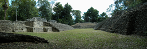 Caracol - The southern acropolis.
