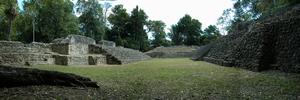 Yajaw Te' K'inich II - Ruins at Caracol, city of Yajaw Te' K'inich II