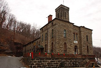 National Register of Historic Places listings in Carbon County, Pennsylvania - Image: Carbon County Prison Sides 2724px