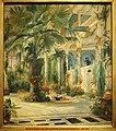 Carl Blechen - Das Innere des Palmenhauses auf der Pfaueninsel bei Potsdam-HamburgerKunsthalle.jpg