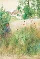 Carl Larsson - Vallmor-Les coquelicots 1884.jpg