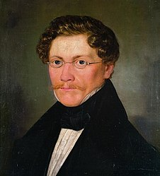 Carl Spitzweg: Self-portrait