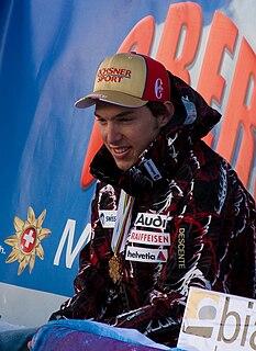 Carlo Janka Swiss alpine skier