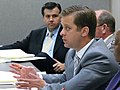 Carlos Lopez-Cantera delivers comments during a committee meeting.jpg