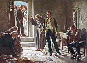 """Juan Francisco González - """"Los Últimos momentos del General José Miguel Carrera"""" (The last moments of General José Miguel Carrera"""
