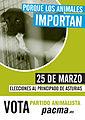 Cartel electoral del PACMA en las elecciones asturianas de 2012.jpg
