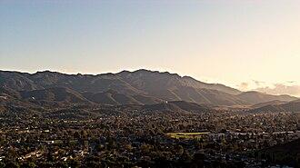 Casa Conejo, California - Overlook of Casa Conejo.