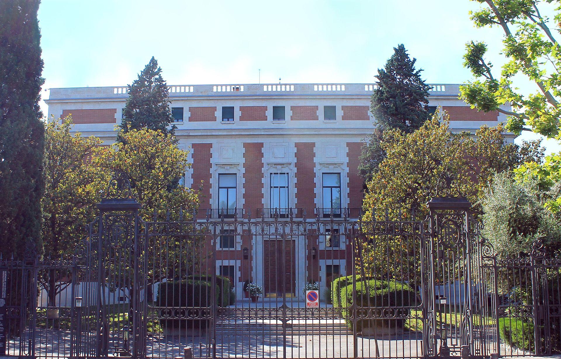 Casa de vel zquez wikipedia la enciclopedia libre - Casa de madrid ...