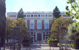 Casa de Velázquez - Southeast façade of the Casa de Velázquez.