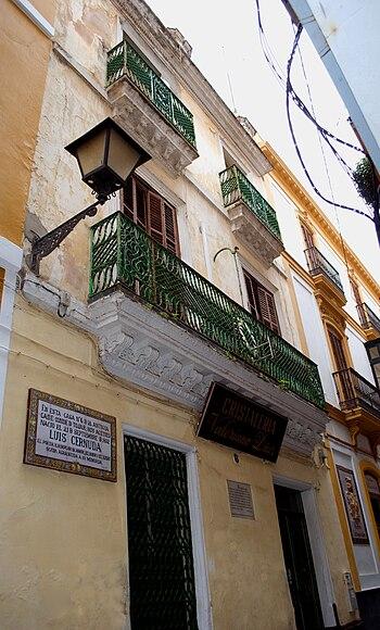 Casa natal de Luis Cernuda