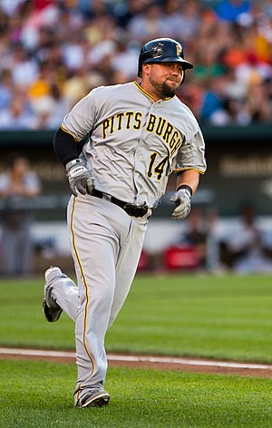 Casey McGehee - McGehee with the Pittsburgh Pirates in 2012