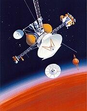 Cassini-Huygens planning status in 1988