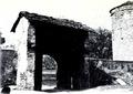 Castello sarriod de la tour, ingresso dall'interno, fig 178, foto nigra.tif