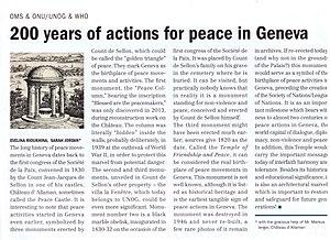 Allaman Castle - Image: Castle Allaman 200 years peace UN Report