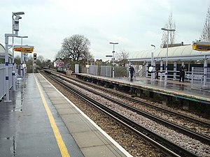Catford railway station - Image: Catford Railway Station geograph.org.uk 735721