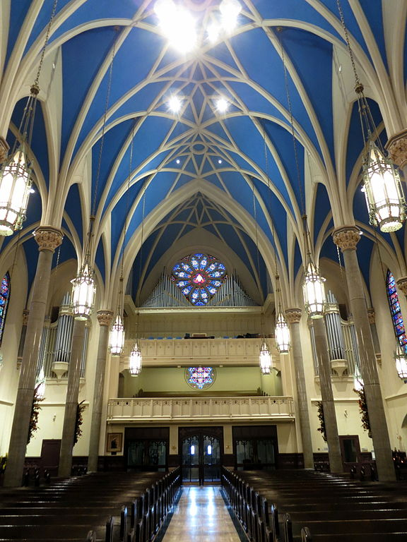 Cathedral of saint mary of the immaculate conception peoria illinois