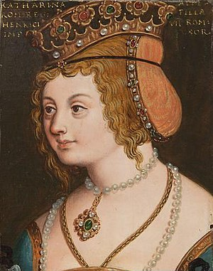 Catherine of Austria, Duchess of Calabria - Catherine of Austria by Anton Boys
