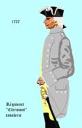 Cav clermont 1757