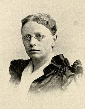 Celia Parker Woolley - Woolley circa 1897.