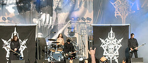 Celtic Frost - Image: Celtic Frost live at Tuska 2006 modified