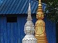 Cemetery at Wat Maha Leap Temple - Near Kampong Cham - Cambodia - 04 (48362780542).jpg
