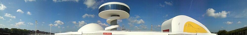 Panorámica del Centro Niemeyer