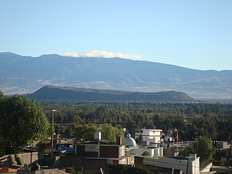 Tláhuac - View of the Xico mountain in Tláhuac