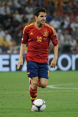 Cesc Fàbregas Euro 2012 vs France 02