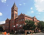 Champaign County Courthouse Urbana Illinois from northwest.jpg