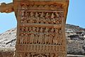Chankama - East Face - South Pillar - East Gateway - Stupa 1 - Sanchi Hill 2013-02-21 4435.JPG