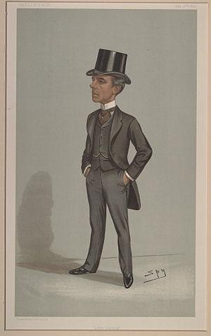 """Charles Darling, 1st Baron Darling - """"Little Darling"""" Darling as caricatured by Spy (Leslie Ward) in Vanity Fair, July 1897"""