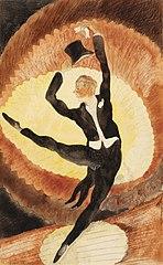 In Vaudeville: Acrobatic Male Dancer with Top Hat