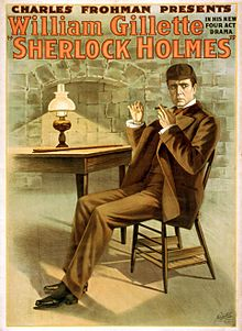 Charles Frohman presents William Gillette in his new four act drama, Sherlock Holmes (LOC var.1364).jpg