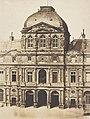 Charles Nègre, Pavillon de l'Horloge, Louvre, Paris, 1855.jpg